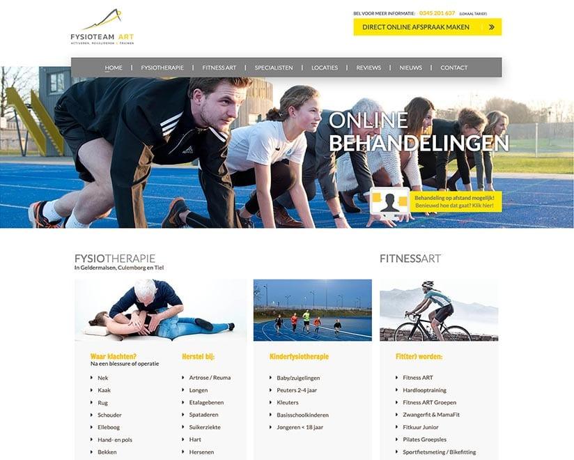 Nieuwe website ontwikkelt