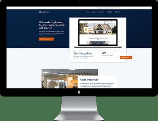 Een moderne website